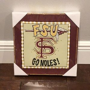 Adorable FSU Canvas Wall Decor